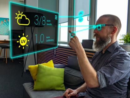 UbiAct - Entwicklung einer Fingerrng-bassierten Interaktion für AR-Brillen